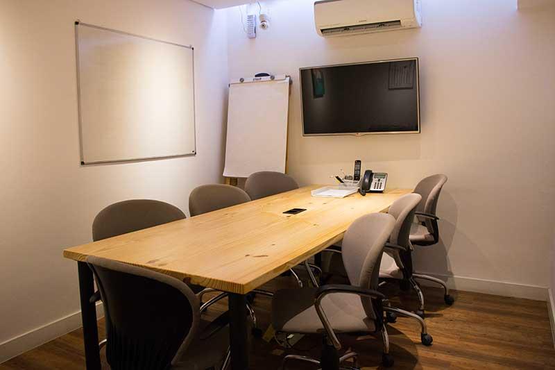 sala de reunião klabin